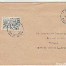 Sellos: CARTA : KOKKOLA (FINLANDIA) A TETUAN 1953. Lote 61887144