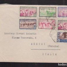 Sellos: 1953.- TETUAN A ITALIA. Lote 61918296