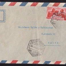Sellos: 1959.- SANTA ISABEL (FERNANDO POO) A CÁDIZ. Lote 62080120