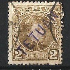 Sellos: MARRUECOS ESPAÑOL 1908 SELLO DE ESPAÑA DE 1901-05 CON SOBRECARGA TETUAN. Lote 62354332