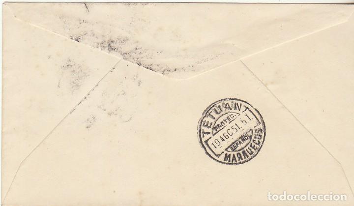 Sellos: PD : 88/90. VISITA DEL GENERAL FRANCO. 1951 - Foto 2 - 62499996