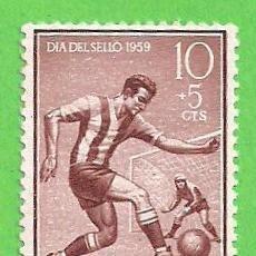Sellos: EDIFIL 156 - IFNI - DÍA DEL SELLO - FÚTBOL. (1959).** NUEVO SIN FIJASELLOS.. Lote 63189332
