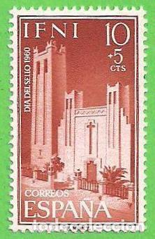 EDIFIL 172 - IFNI - DÍA DEL SELLO - IGLESIA DE SANTA MARÍA DEL MAR. (1960).** NUEVO SIN FIJASELLOS. (Sellos - España - Colonias Españolas y Dependencias - África - Ifni)