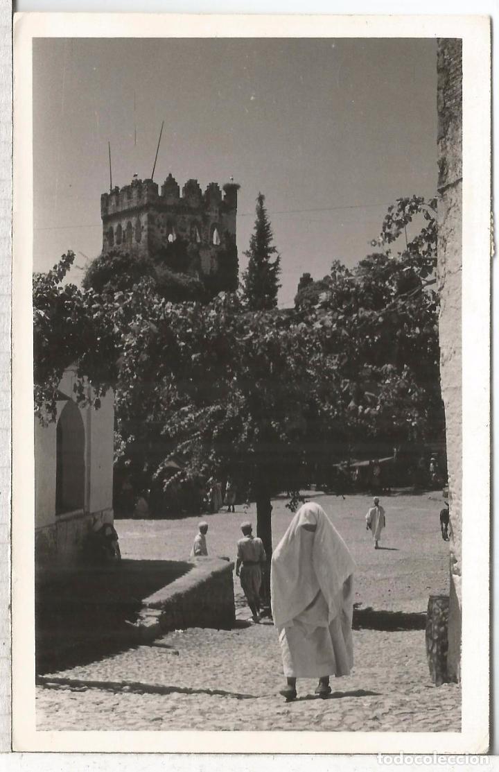Sellos: MARRUECOS TETUAN TARJETA POSTAL 1954 MAT HEXAGONAL CORREO AEREO - Foto 2 - 64043007