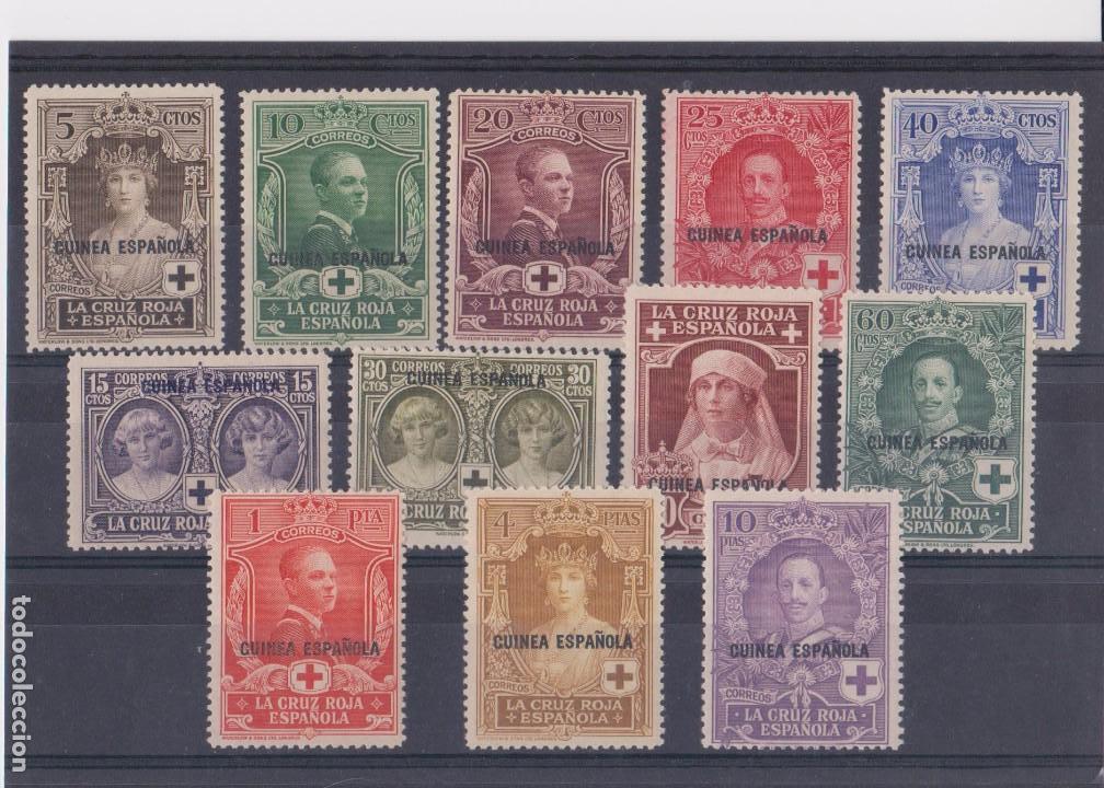 GUINEA PRO CRUZ ROJA AÑO 1926 EDIFIL 179/90 EN NUEVO** (Sellos - España - Colonias Españolas y Dependencias - África - Guinea)