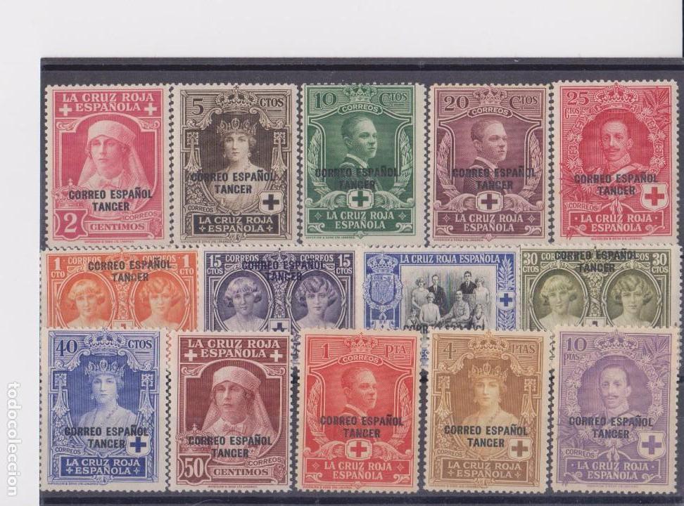TÁNGER PRO CRUZ ROJA AÑO 1926 EDIFIL 23/36 EN NUEVO** (Sellos - España - Colonias Españolas y Dependencias - África - Tanger)