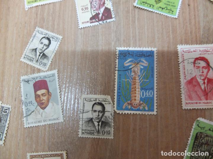 Sellos: lote sellos de marruecos - Foto 4 - 67013430