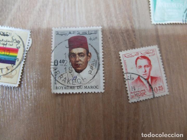 Sellos: lote sellos de marruecos - Foto 6 - 67013430