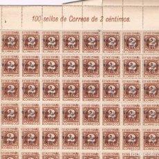 Sellos: EX CONIAS ESAÑOLAS. IFNI. CONJUNTO DE 10 PLIEGOS DE 100 SELLOS. TOTAL 1000 SELLOS. Lote 68117717