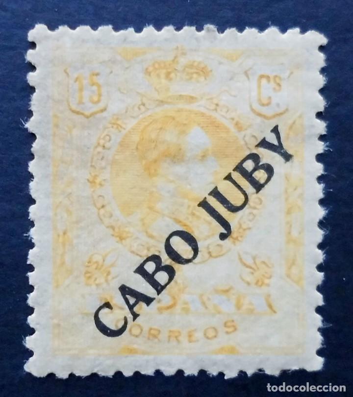 CABO JUBY - ESPAÑA - DEPENDENCIAS POSTALES 1919, 15 CENTIMOS (Sellos - España - Colonias Españolas y Dependencias - África - Cabo Juby)