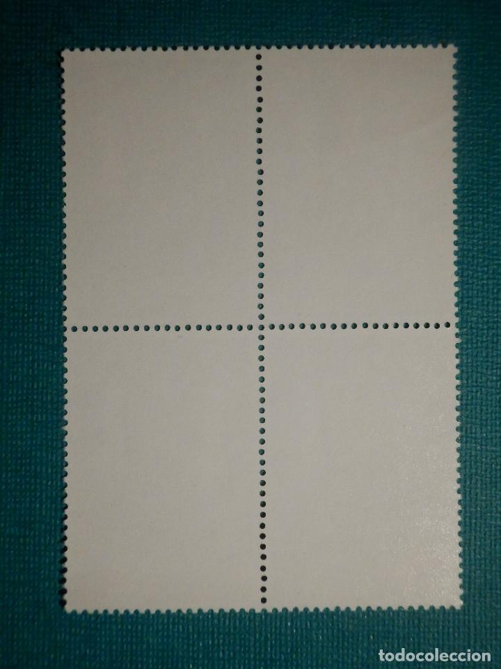Sellos: SELLO - ESPAÑA - SAHARA - PRO INFANCIA MEZQUITAS - BLOQUE DE 4 - EDIFIL 314 - 1974 - 1 PTS - Foto 2 - 68879233