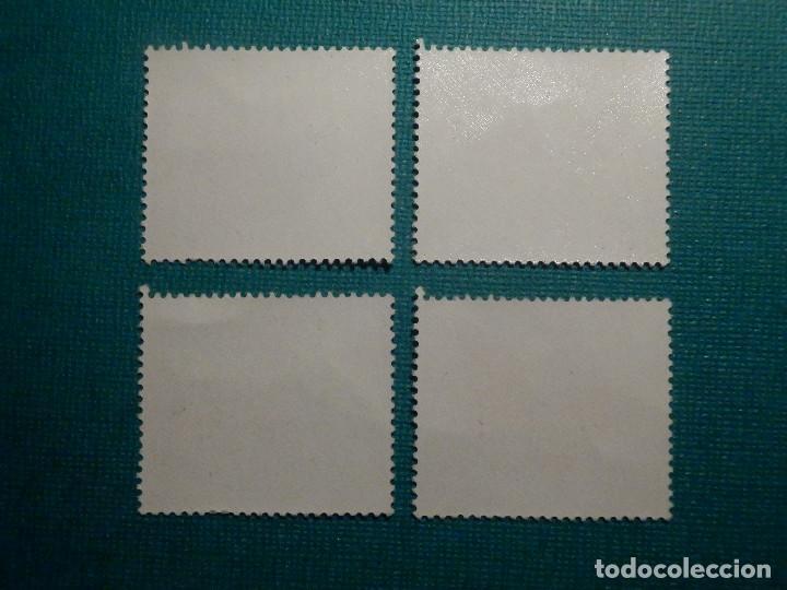 Sellos: SELLO - IFNI - SERIE DIA DEL SELLO - EDIFIL 221, 222, 223 Y 224 - 1966 - 10, 40 CTS, 1,5 y 4 PTS - Foto 2 - 68881445