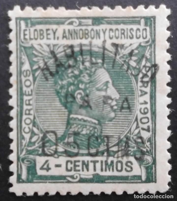 ELOBEY, ANNOBON Y CORISCO - ESPAÑA - DEPENDENCIAS POSTALES 1908 - 1909 (Sellos - España - Colonias Españolas y Dependencias - África - Elobey, Annobón y Corisco )