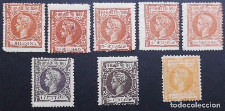 FERNANDO POO - ESPAÑA - DEPENDENCIAS POSTALES 1899 (Sellos - España - Colonias Españolas y Dependencias - África - Fernando Poo)