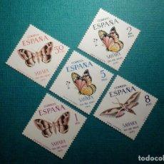 Sellos: SELLO - ESPAÑA - SAHARA - SERIE DÍA DEL SELLO - EDIFIL 283, 284, 285, 286 Y 287 - 1970 -. Lote 68957565
