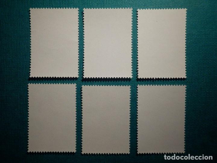 Sellos: SELLO - ESPAÑA - SAHARA - Tipos Indígenas - EDIFIL 297, 298, 299, 300, 301 y 302 - 1972 - 6 valores - Foto 2 - 68957665