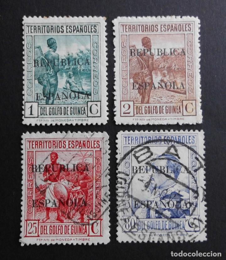 GUINEA - ESPAÑA - COLONIAS ESPAÑOLAS Y DEPENDENCIAS POSTALES 1931 (Sellos - España - Colonias Españolas y Dependencias - África - Guinea)