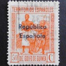 Sellos: GUINEA - COLONIAS ESPAÑOLAS Y DEPENDENCIAS POSTALES 1932. Lote 69018905