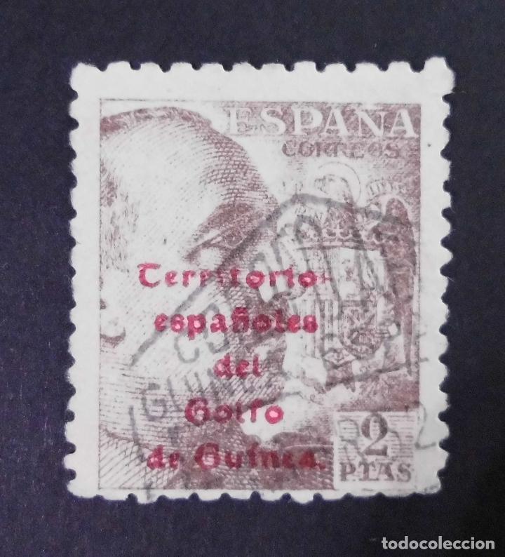 GUINEA - ESPAÑA - COLONIAS ESPAÑOLAS Y DEPENDENCIAS POSTALES 1943 - ERROR FALTA LA S (Sellos - España - Colonias Españolas y Dependencias - África - Guinea)