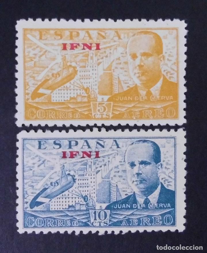 IFNI - ESPAÑA - COLONIAS ESPAÑOLAS Y DEPENDENCIAS POSTALES 1948 (Sellos - España - Colonias Españolas y Dependencias - África - Ifni)