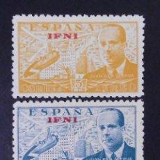 Sellos: IFNI - ESPAÑA - COLONIAS ESPAÑOLAS Y DEPENDENCIAS POSTALES 1948. Lote 69023985