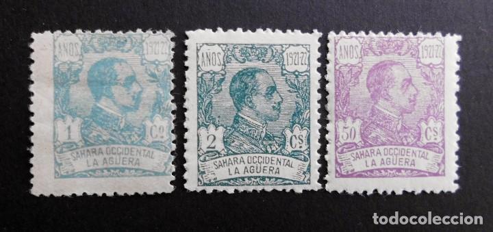 LA AGÜERA ESPAÑA COLONIAS ESPAÑOLAS Y DEPENDENCIAS POSTALES 1923 (Sellos - España - Colonias Españolas y Dependencias - África - La Agüera)