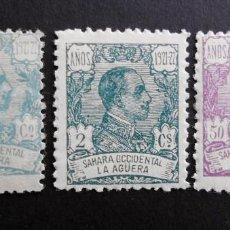 Sellos: LA AGÜERA - ESPAÑA - COLONIAS ESPAÑOLAS Y DEPENDENCIAS POSTALES 1923. Lote 69024945