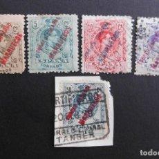 Sellos: TANGER - ESPAÑA - COLONIAS ESPAÑOLAS Y DEPENDENCIAS POSTALES 1909 - 1914. Lote 69421465