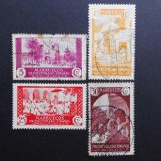 Sellos: MARRUECOS - ESPAÑA - COLONIAS ESPAÑOLAS Y DEPENDENCIAS POSTALES 1928. Lote 69429177