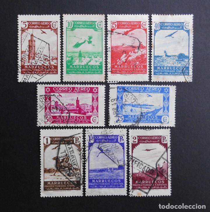MARRUECOS - ESPAÑA - COLONIAS ESPAÑOLAS Y DEPENDENCIAS POSTALES 1937 (Sellos - España - Colonias Españolas y Dependencias - África - Marruecos)