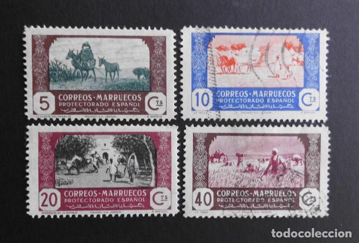 MARRUECOS - ESPAÑA - COLONIAS ESPAÑOLAS Y DEPENDENCIAS POSTALES 1944 (Sellos - España - Colonias Españolas y Dependencias - África - Marruecos)