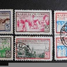 Sellos: MARRUECOS - ESPAÑA - COLONIAS ESPAÑOLAS Y DEPENDENCIAS POSTALES 1952. Lote 69506621