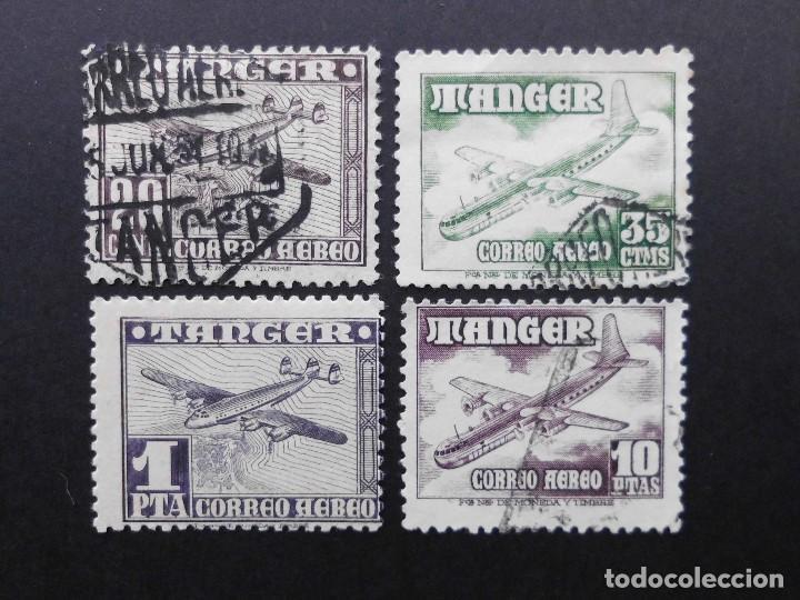TANGER - ESPAÑA - COLONIAS ESPAÑOLAS Y DEPENDENCIAS POSTALES 1948 CORREO AEREO (Sellos - España - Colonias Españolas y Dependencias - África - Tanger)