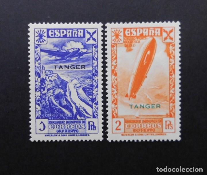 TANGER - ESPAÑA - COLONIAS ESPAÑOLAS Y DEPENDENCIAS POSTALES 1938 BENEFICENCIA (Sellos - España - Colonias Españolas y Dependencias - África - Tanger)
