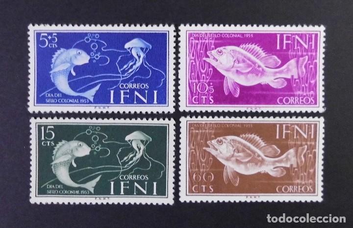 IFNI - ESPAÑA - COLONIAS ESPAÑOLAS Y DEPENDENCIAS POSTALES 1953 (Sellos - España - Colonias Españolas y Dependencias - África - Ifni)