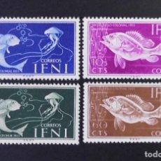 Sellos: IFNI - ESPAÑA - COLONIAS ESPAÑOLAS Y DEPENDENCIAS POSTALES 1953. Lote 69651845