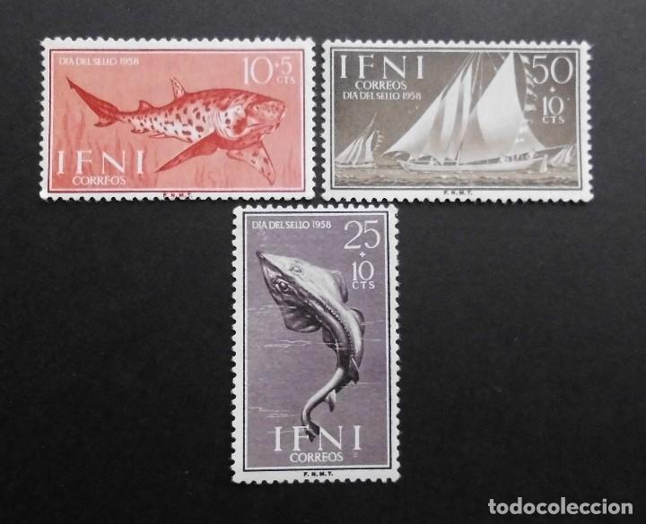 IFNI ESPAÑA COLONIAS ESPAÑOLAS Y DEPENDENCIAS POSTALES 1958 (Sellos - España - Colonias Españolas y Dependencias - África - Ifni)