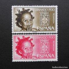 Sellos: FERNANDO POO - ESPAÑA - COLONIAS ESPAÑOLAS Y DEPENDENCIAS POSTALES 1963. Lote 69664853