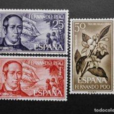 Sellos: FERNANDO POO - ESPAÑA - COLONIAS ESPAÑOLAS Y DEPENDENCIAS POSTALES 1964. Lote 69674337