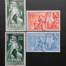 Sellos: FERNANDO POO - ESPAÑA - COLONIAS ESPAÑOLAS Y DEPENDENCIAS POSTALES 1964. Lote 69675181