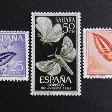 Sellos: SAHARA - ESPAÑA - COLONIAS ESPAÑOLAS Y DEPENDENCIAS POSTALES 1964. Lote 69693905