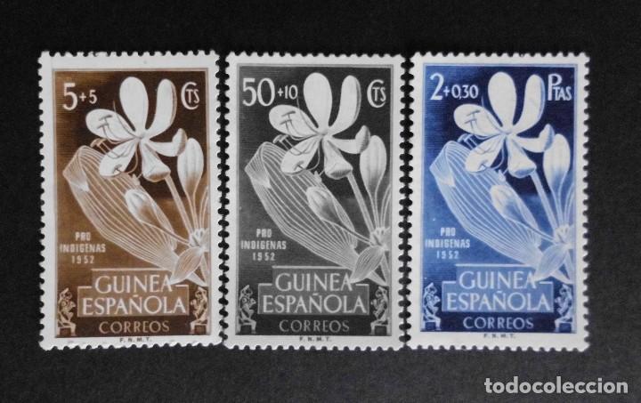 GUINEA - ESPAÑA - COLONIAS ESPAÑOLAS Y DEPENDENCIAS POSTALES 1952 (Sellos - España - Colonias Españolas y Dependencias - África - Guinea)