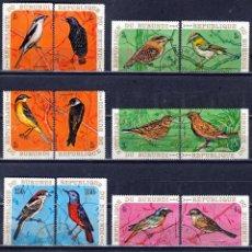 Sellos: BURUNDI 1970, SERIE AEREA. AVES. *,MH. GOMA ORIGINAL ( 2 FOTOS) (17-01). Lote 69823145