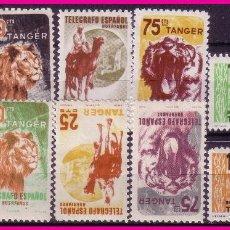 Sellos: TÁNGER BENEFICENCIA HUÉRFANOS DE TELÉGRAFOS, ANIMALES * * / *. Lote 71065421
