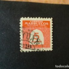 Sellos: MARRUECOS,1953,CIFRAS,EDIFIL 383,MATASELLO DE TETUAN,(LOTE AB). Lote 71121017
