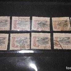 Sellos: 10 SELLOS DE TERRITORIOS ESPAÑOLES EN GOLFO DE GUINEA DE 60 CENT. 1924. Lote 74207695