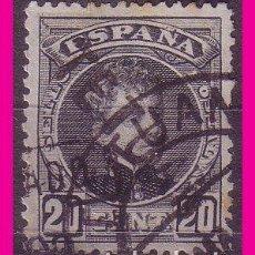 Sellos: MARRUECOS 1908 SELLOS DE ESPAÑA HABILITADOS, EDIFIL Nº 19HI (O) VARIEDAD. Lote 74692111
