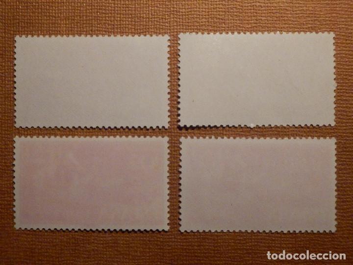 Sellos: SELLO - ESPAÑA - IFNI - DIA del sello - EDIFIL 183, 184, 185 y 186 - 1961 - SERIE 4 VALORES - Foto 2 - 75943463