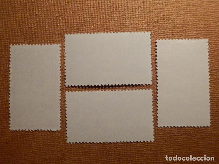 Sellos: SELLO - ESPAÑA - IFNI - Día del sello - EDIFIL 172, 173, 174 y 175 - 1960 - 4 VALORES - Foto 2 - 75943559