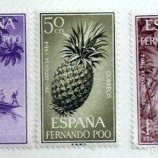 Sellos: SERIE SELLOS 1964 FERNANDO POO. PRO INFANCIA. Lote 76179543